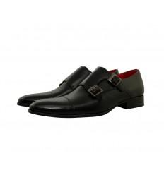 Zapato piel boxcalf hebillas