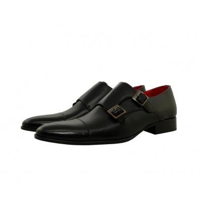 Zapato piel bloxcalf hebillas